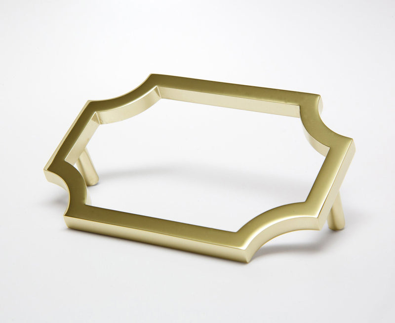 Classic-01 Handle in Polished Brass