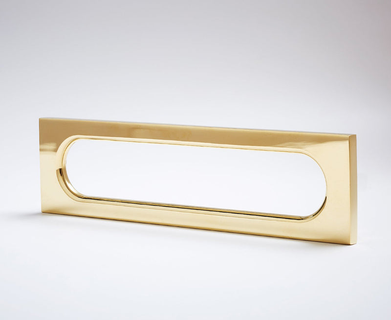 MOD-06 Handle in Polished Brass