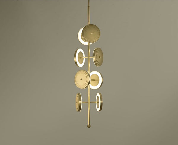 Le Royer Chandelier in Brass | DSHOP