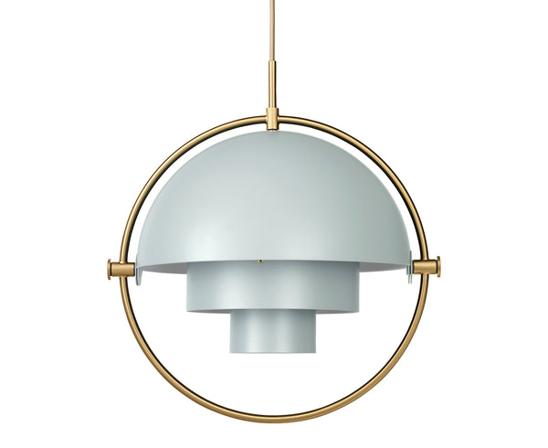 Multi-Light Pendant - Brass/Sea Grey | DSHOP