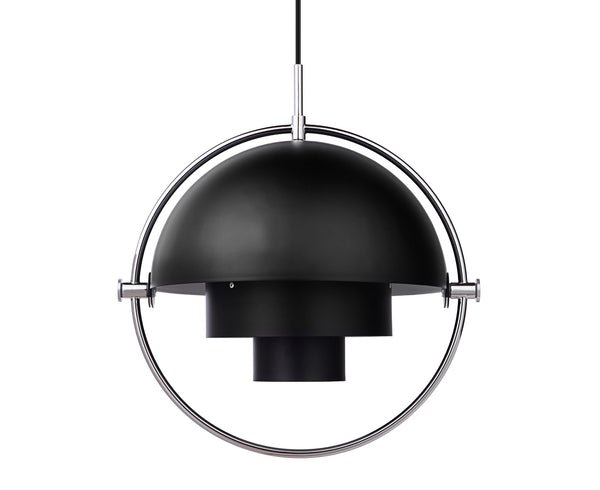 Multi-Light Pendant - Chrome/Charcoal Black | DSHOP