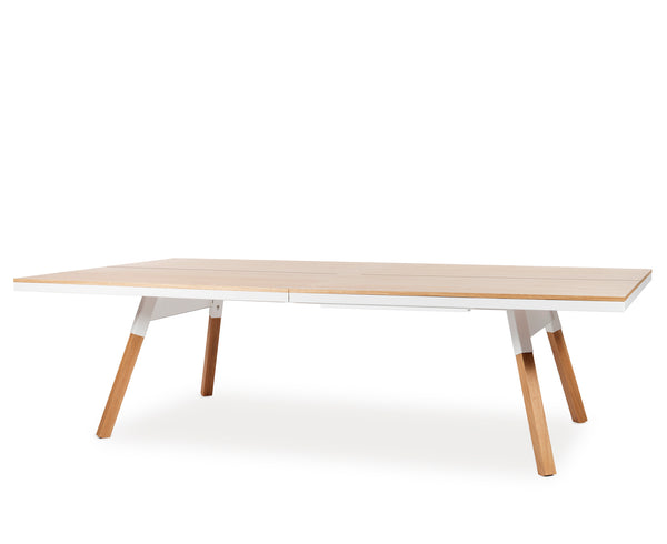 You & Me Ping Pong Table - Oak | DSHOP