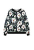 Sweater In Flower Print