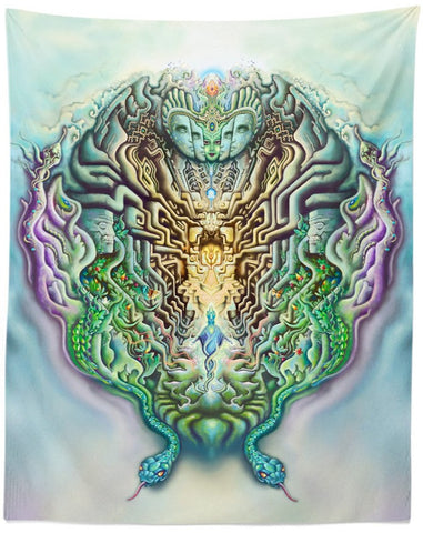 Temple of Gnosis Tapestry