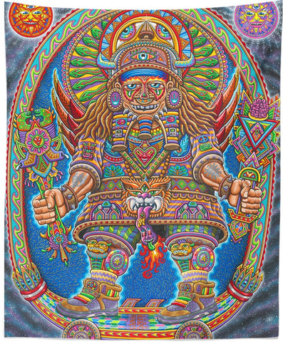 Ultimate Spirit Warrior Tapestry