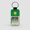BSB - Leather Keychain - Airportag