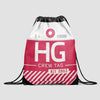 HG - Drawstring Bag - Airportag