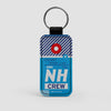 NH - Leather Keychain - Airportag