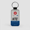 NTE - Leather Keychain - Airportag