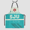 SJU - Kitchen Apron - Airportag