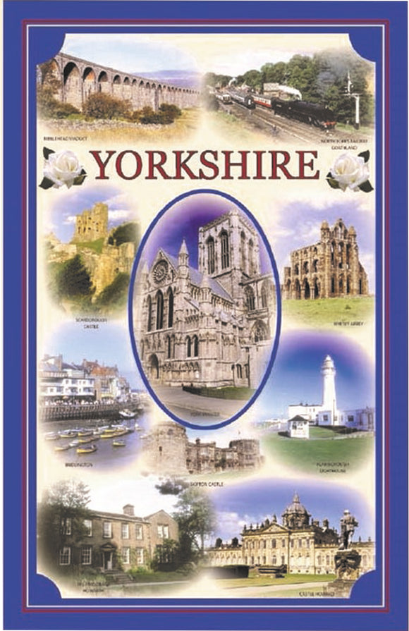 Yorkshire Montage T/Towel
