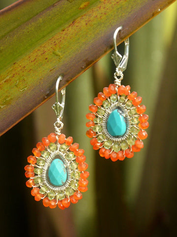 Anjali Small Mandala Earrings