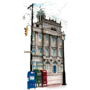 Toronto historic landmark wall art at it's best.  The St. Lawrence Town Hall.