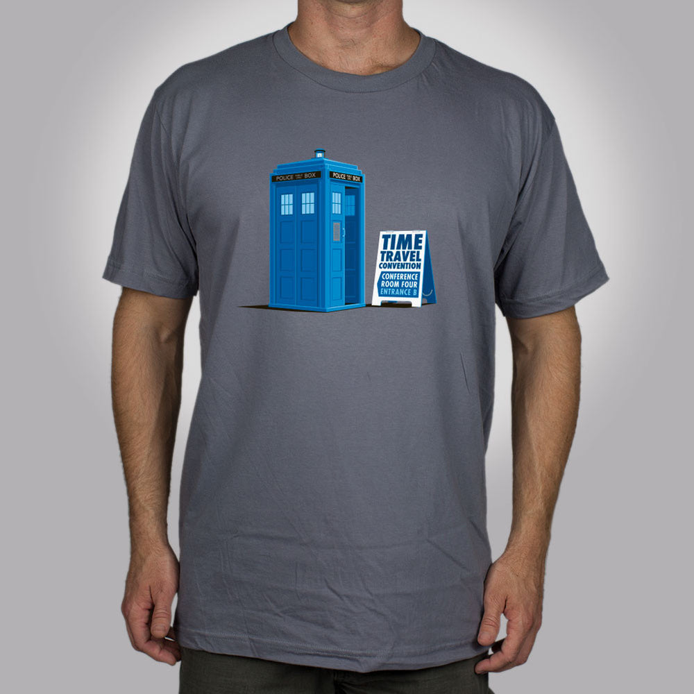 Time Travel Convention Men's T-Shirt - Glennz Tees