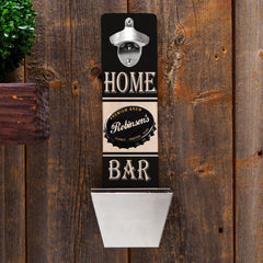 Personalized Bottle Opener - Wall Mounted - Groomsmen Gifts-PremiumBrew-