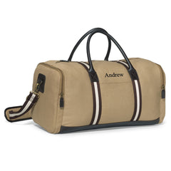 Personalized Groomsmen Heavy Canvas Duffel Bag-Travel Gifts-JDS-