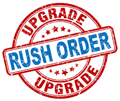 Rush Order Processing - Order Ships within 24 Business Hours (Monday - Friday)