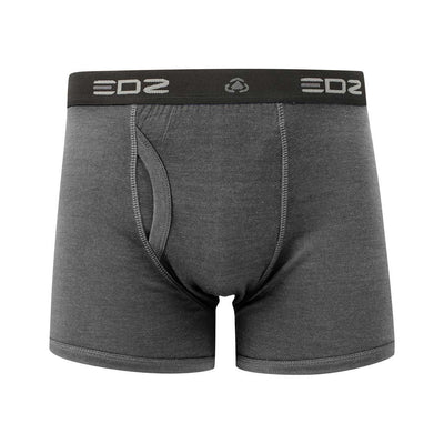 EDZ Merino Wool Boxer Shorts Trunk Underwear Mens Graphite