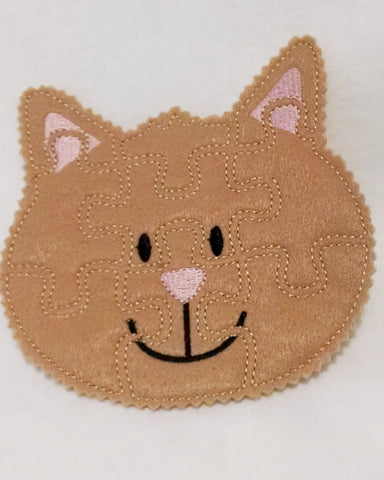 Cat Felt Puzzle Perfect Party Favor And Busy Bag Item