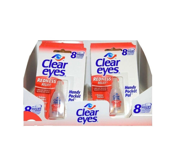 CLEAR EYES - REDNESS RELIEF 0.2 OZ - 12CT/BOX