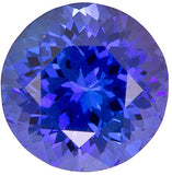 Grade AAA Best Quality Loose Tanzanite Gems in Round Cut