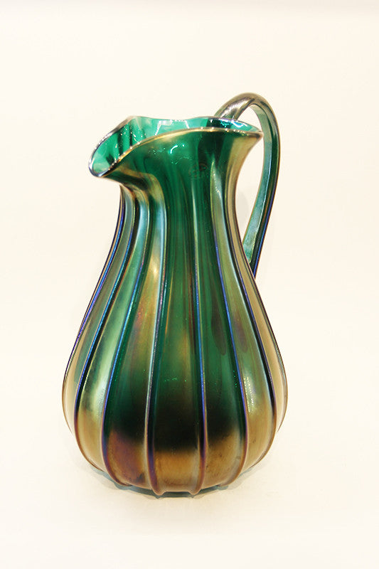 Archimede Seguso Tall Water Pitcher