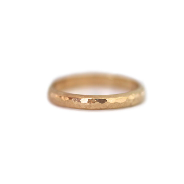 Emily Thick Hammered Ring