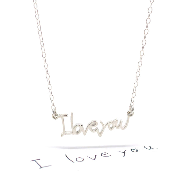 The Custom Necklace with Your Handwriting