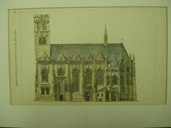 St. Lambert's Church , Munster, Westphalia, Germany, EUR, 1879, unknown