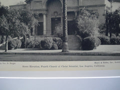 Fourth Church of Christ Scientist, Los Angeles, CA, 1930, Meyer and Holler