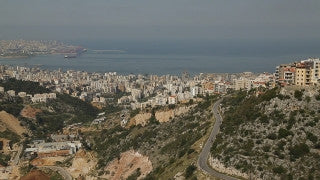 LB 006 International stock footage: Zahle, Lebanon