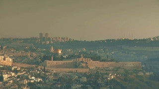TJ_003 Time Lapse Israel: Jerusalem - Western Wall day to night