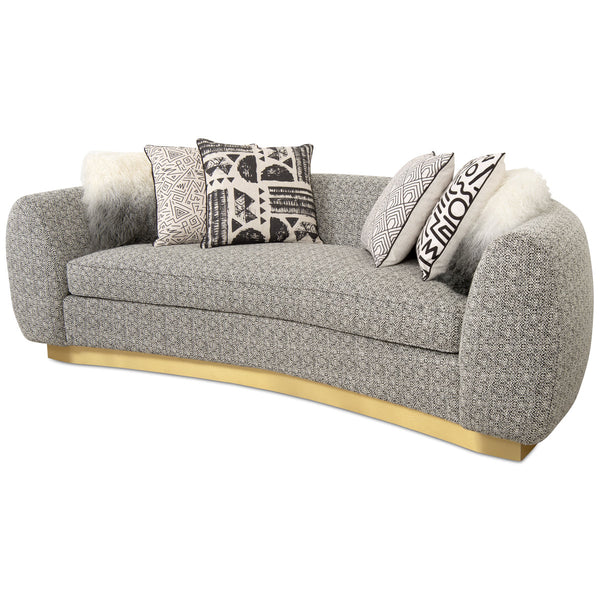 Chubby Sofa in Textured Fabric - ModShop1.com