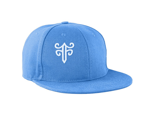 Classic Fitted Hat in Sky Blue