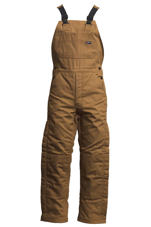Lapco FR 12 oz Insulated Bib Overalls-100% Cotton Duck