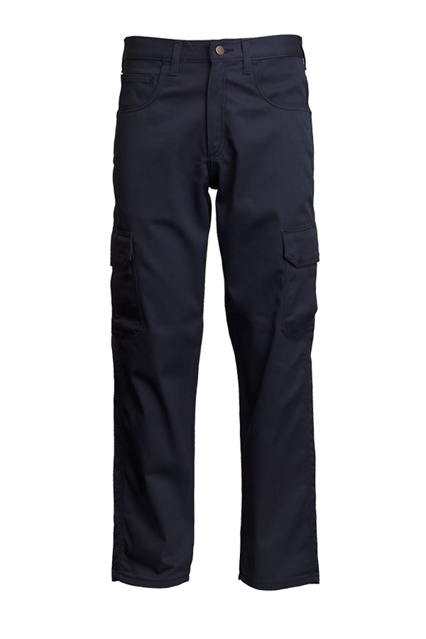 Lapco FR Navy 9 OZ Cargo Pants- 100% Cotton
