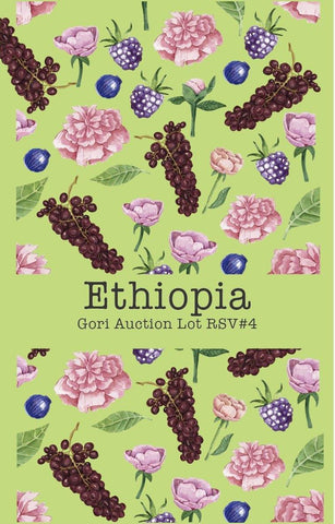 Ethiopia Gesha Village Estate Gesha Gori RSV#4(Auction Lot)(Natural)