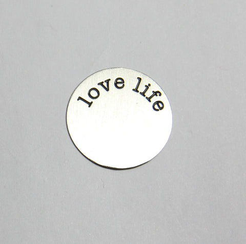 Love Life Plate