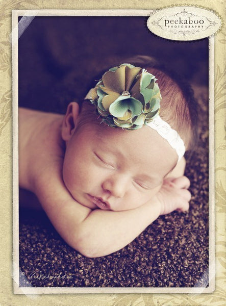 Free Audrey Flower Headband Tutorial