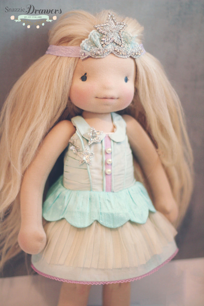 Lucy Star Doll Dress PDF Pattern