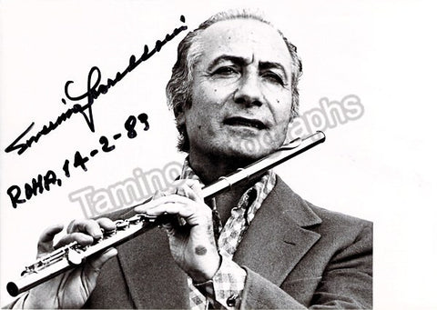 Gazzelloni, Severino - Signed Photo - TaminoAutographs.com