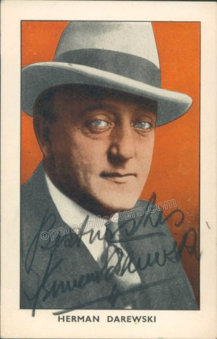 Darewski, Herman - Signed Photo - TaminoAutographs.com