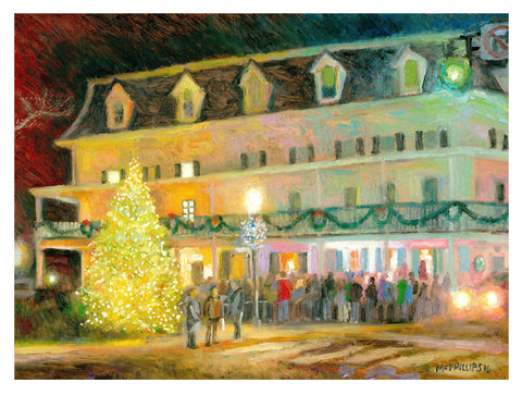 Doylestown Christmas Tree Giclee Print