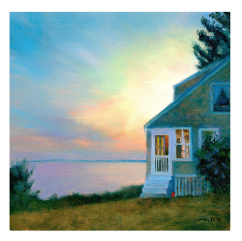 Maine Sunset Giclee Print Unframed
