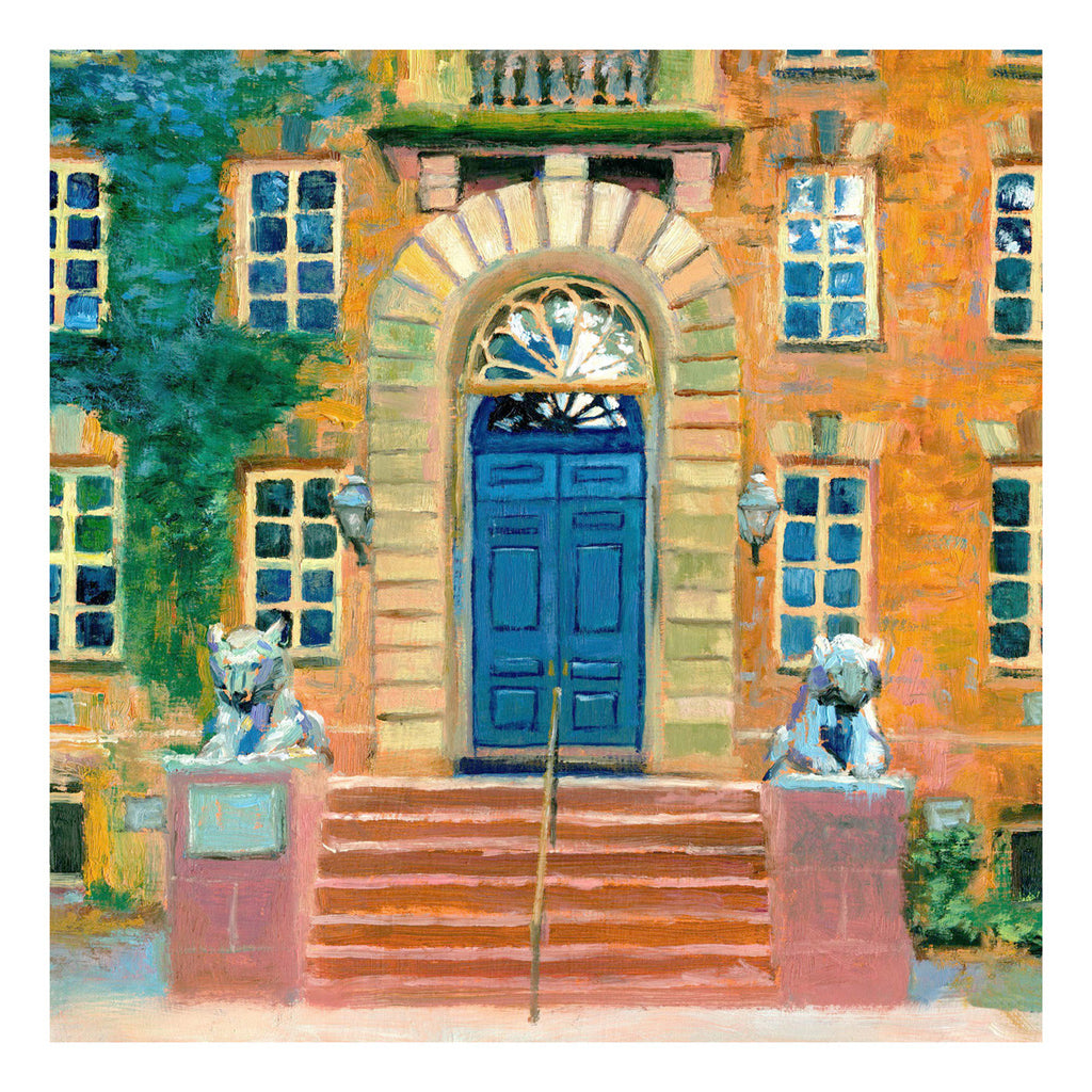 "Large 20""x20"" Giclee print of Nassau Hall, Princeton"