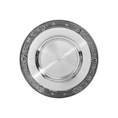 Celtic Paten - Pewter
