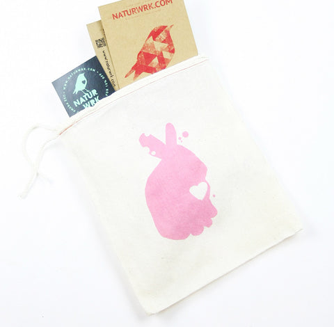 Bubblegum Pink Rabbit Gift Bag