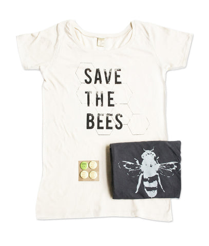 Womens Save The Bees Tshirt Bundle