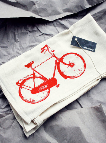 Pair of Bike Tea Towels