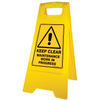 Safety A Frame Floor Signs